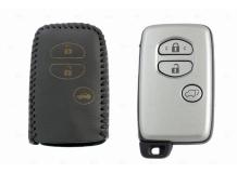 Чехол для ключей Subaru кожаный (T2, BGT-LKH-Su-Y503-B)