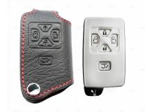 Чехол для ключей Toyota кожаный (T1, BGT-LKH-T-Al)