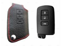 Чехол для ключей Toyota кожаный (T1, BGT-LKH-T-V50)