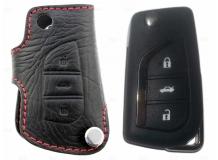 Чехол для ключей Toyota кожаный (T1, BGT-LKH502-T)
