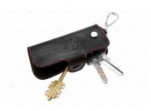 Чехол для ключей Toyota кожаный, универсальный (BGT-LKH904-T)