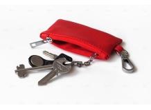 Чехол для ключей Volvo кожаный, универсальный (BGT-LKH-UNR-Vol)