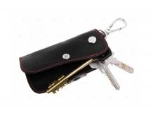 Чехол для ключей Mitsubishi кожаный, универсальный (BGT-LKH904-Mitsu)