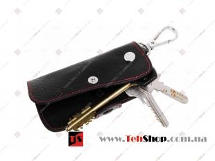 Чехол для ключей Ford кожаный, универсальный (BGT-LKH904-F)