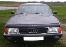 Дефлектор капота Audi 100 (C3) /1982-1991/. Мухобойка Ауди 100 [Vip Tuning]