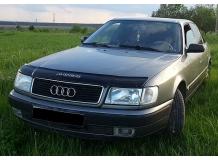 Дефлектор капота Audi 100 (C4) /1990-1994/. Мухобойка Ауди 100 [Vip Tuning]