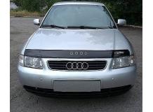 Дефлектор капота Audi A3 (8L) /1996-2003/. Мухобойка Ауди А3 [Vip Tuning]