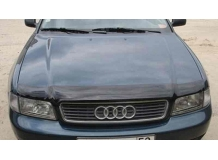 Дефлектор капота Audi A4 (B5) /1994-2001/. Мухобойка Ауди А4 [Vip Tuning]