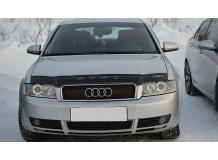 Дефлектор капота Audi A4 (B6) /2000-2006/. Мухобойка Ауди А4 [Vip Tuning]