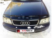 Дефлектор капота Audi A6 (C4) /1994-1997/. Мухобойка Ауди А6 [Vip Tuning]