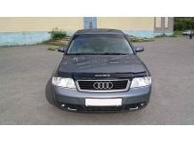 Дефлектор капота Audi A6 (C5) /1997-2004/. Мухобойка Ауди А6 [Vip Tuning]