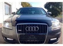 Дефлектор капота Audi A6 (C6) /2004-2011/. Мухобойка Ауди А6 [Vip Tuning]