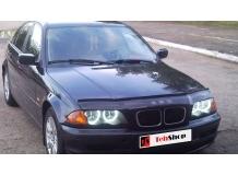 Дефлектор капота BMW 3 (E46) /1998-2006/. Мухобойка БМВ 3 [Vip Tuning]
