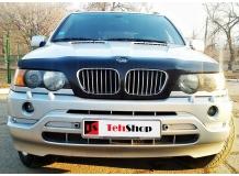 Дефлектор капота BMW X5 (E53) /1999-2006/. Мухобойка БМВ X5 [Vip Tuning]