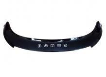 Дефлектор капота Chery A19 /2013+, длинный/. Мухобойка Чери А13 [Vip Tuning]