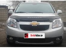Дефлектор капота Chevrolet Orlando /2010+/. Мухобойка Шевроле Орландо [Vip Tuning]