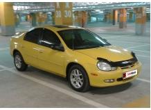 Дефлектор капота Dodge Neon II /1999-2005/. Мухобойка Додж Неон [Vip Tuning]