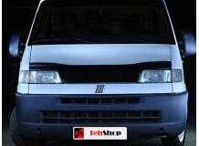 Дефлектор капота Fiat Ducato II /1994-2002/. Мухобойка Фиат Дукато [Vip Tuning]