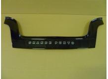 Дефлектор капота Fiat Grande Punto /2005-2009/. Мухобойка Фиат Гранде Пунто [Vip Tuning]