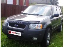 Дефлектор капота Ford Escape I /2000-2007/. Мухобойка Форд Эскейп [Vip Tuning]