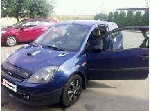 Дефлектор капота Ford Fiesta V /2002-2008, короткий/. Мухобойка Форд Фиеста [Vip Tuning]
