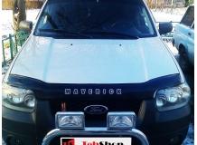 Дефлектор капота Ford Maverick II /2000-2004/. Мухобойка Форд Маверик [Vip Tuning]