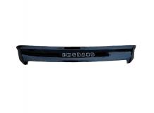 Дефлектор капота Geely Emgrand X7 /2013+, короткий/. Мухобойка Джили Эмгранд Х7 [Vip Tuning]
