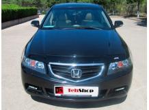 Дефлектор капота Honda Accord VII /2002-2005/. Мухобойка Хонда Аккорд [Vip Tuning]