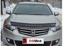 Дефлектор капота Honda Accord VIII /2008-2012/. Мухобойка Хонда Аккорд [Vip Tuning]