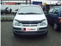 Дефлектор капота Hyundai Getz /2002-2005/. Мухобойка Хюндай Гетц [Vip Tuning]