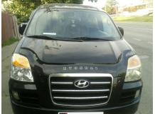 Дефлектор капота Hyundai H1 I /FL, 2004-2007/. Мухобойка Хюндай Н1 [Vip Tuning]