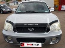 Дефлектор капота Hyundai SantaFe I /2000-2006/. Мухобойка Хюндай СантаФе [Vip Tuning]