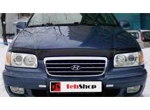Дефлектор капота Hyundai Trajet /1999-2007/. Мухобойка Хюндай Траджет [Vip Tuning]