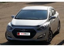 Дефлектор капота Hyundai i40 /2011+, длинный/. Мухобойка Хюндай i40 [Vip Tuning]