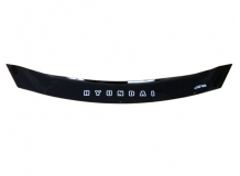 Дефлектор капота Hyundai i40 /2011+, короткий/. Мухобойка Хюндай i40 [Vip Tuning]