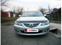 Дефлектор капота Mazda 6 I /2002-2007/. Мухобойка Мазда 6 [Vip Tuning]