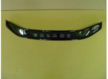 Дефлектор капота Mitsubishi Galant VIII /1996-2003/. Мухобойка Мицубиси Галант [Vip Tuning]