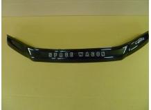Дефлектор капота Mitsubishi Space Wagon III /1997-2004/. Мухобойка Мицубиси Спэйс Вагон [Vip Tuning]
