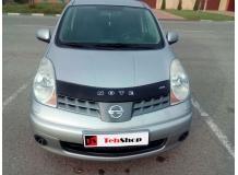 Дефлектор капота Nissan Note E11 /2005-2009/. Мухобойка Ниссан Ноут [Vip Tuning]