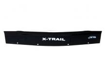 Дефлектор капота Nissan X-Trail T30 /2001-2007, короткий/. Мухобойка Ниссан ИксТрейл [Vip Tuning]