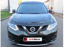 Дефлектор капота Nissan X-Trail T32 /2014+/. Мухобойка Ниссан ИксТрейл [Vip Tuning]