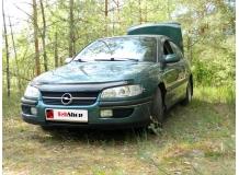 Дефлектор капота Opel Omega B /1994-1999/. Мухобойка Опель Омега [Vip Tuning]