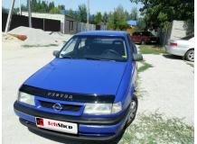 Дефлектор капота Opel Vectra A /1988-1995/. Мухобойка Опель Вектра [Vip Tuning]