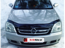 Дефлектор капота Opel Vectra C /2002-2005/. Мухобойка Опель Вектра [Vip Tuning]