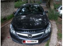 Дефлектор капота Opel Vectra C /FL, 2005-2008/. Мухобойка Опель Вектра [Vip Tuning]
