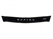 Дефлектор капота Opel Zafira B /2005-2011, короткий/. Мухобойка Опель Зафира [Vip Tuning]