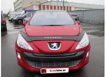 Дефлектор капота Peugeot 308 I /2007-2011/. Мухобойка Пежо 308 [Vip Tuning]