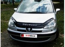 Дефлектор капота Peugeot 807 /2002-2014/. Мухобойка Пежо 807 [Vip Tuning]