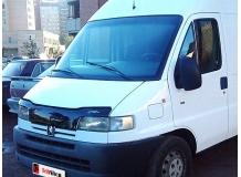Дефлектор капота Peugeot Boxer I /1994-2002/. Мухобойка Пежо Боксер [Vip Tuning]