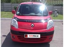 Дефлектор капота Renault Kangoo II /2007-2013/. Мухобойка Рено Кенго [Vip Tuning]